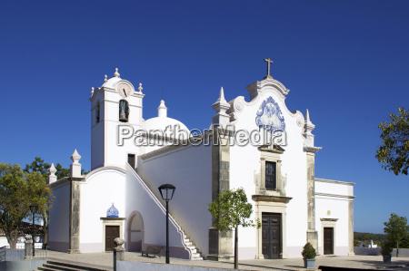 san lauraenco church almancil algarve portugal