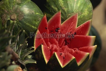 wassermelone bereit zu essen
