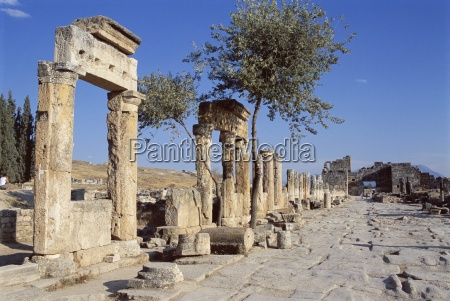 archaeological site hierapolis pamukkale unesco world