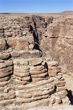 rock formations near the grand canyon