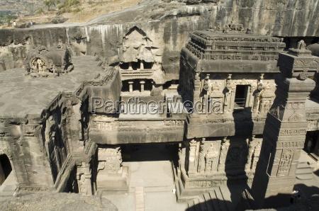 the kailasa kailasanatha temple ellora caves