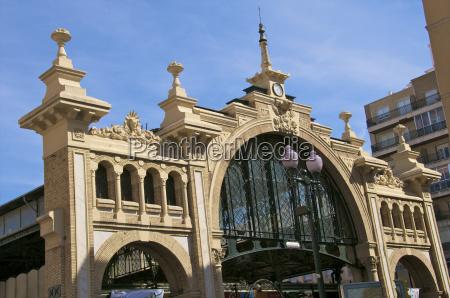 facade central market built in 1903