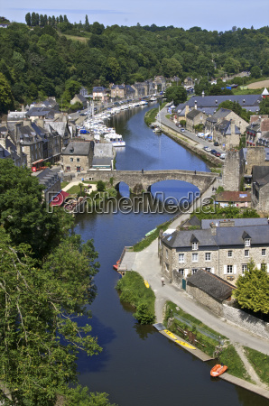 rance river valley and dinan harbour