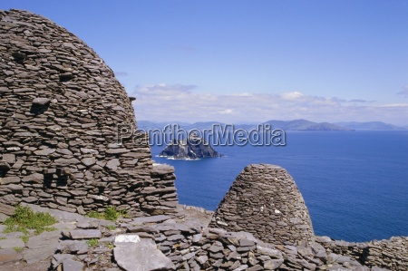 early christian site skellig michael county