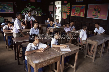 grundschule bangkok thailand suedostasien asien
