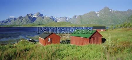 raftsund channel and trolltinden mountains lofoten
