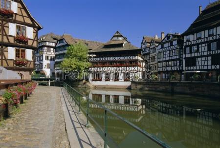 petite france area of strasbourg bas