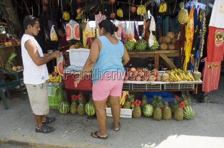 food vendor manuel antonio costa rica