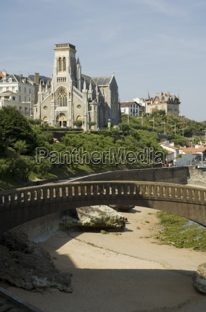 church biarritz basque country pyrenees atlantiques