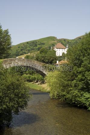 the river nive st etienne de