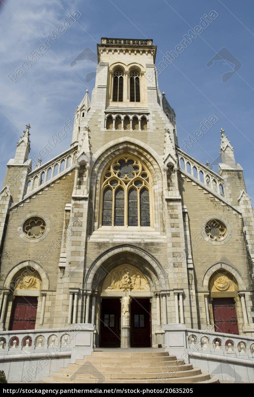 kirche, biarritz, baskenland, pyrenäen-atlantiques, aquitanien, frankreich, europa - 20635205