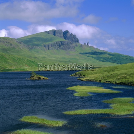 loch fada and the storr isle