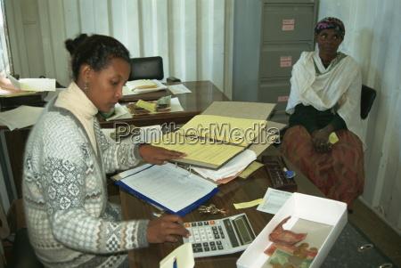 wirtschaftsprueferin fuer frauengenossenschaft addis abeba AEthiopien