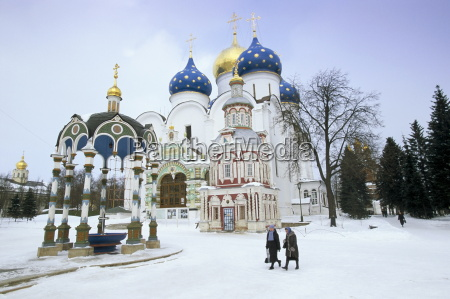 cathedral of the assumption in winter