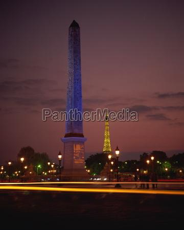 the obelisk in place de la