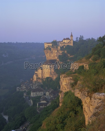 rocamadour the dordogne midi pyrenees france