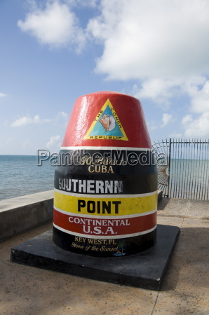 old buoy used as marker for