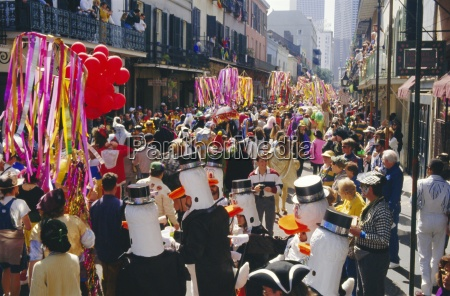 mardi gras new orleans louisiana usa