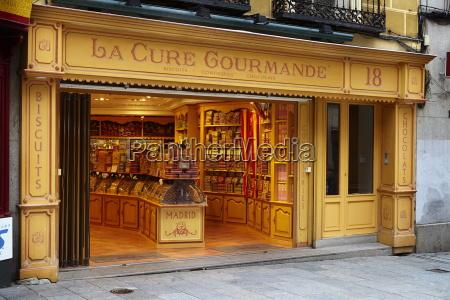 la cure gourmande keksladen madrid spanien