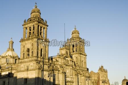 metropolitan cathedral zocalo centro historico mexico
