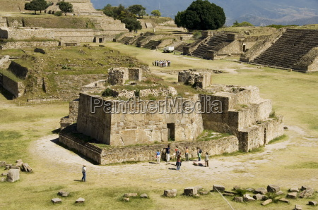 the ancient zapotec city of monte