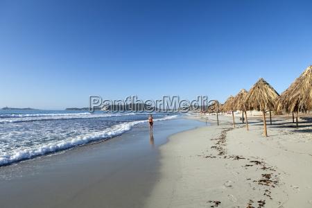 villasimius beach cagliari province sardinia italy