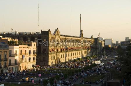 the national palace zocalo centro historico