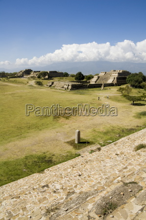 looking southwest across the ancient zapotec