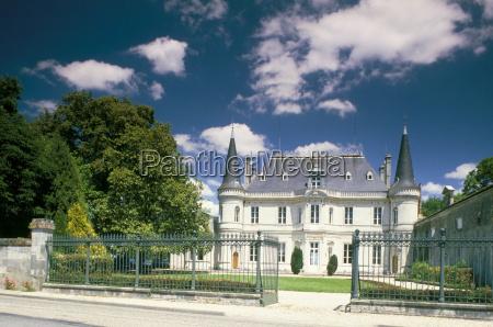 chateau palmer medoc aquitaine france europe