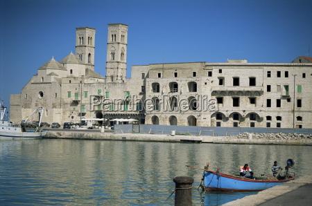 view across harbour to duomo vecchio