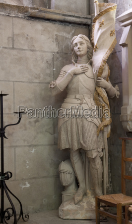 statue of st joan of arc
