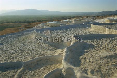 pamukkale unesco world heritage site anatolia
