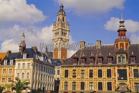flemish houses belfry of the nouvelle