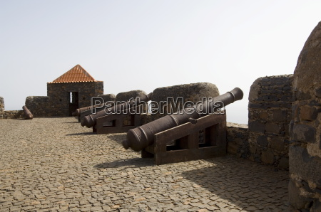 the fortress of sao filipe santiago