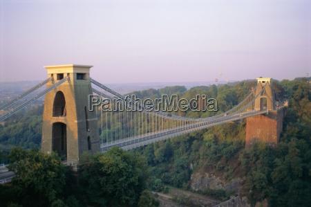 clifton suspension bridge gebaut von brunel