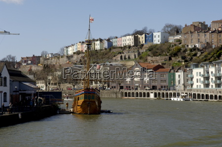 harbour view to hotwells with replica