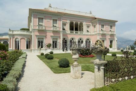 villa ephrussi historical rothschild villa st