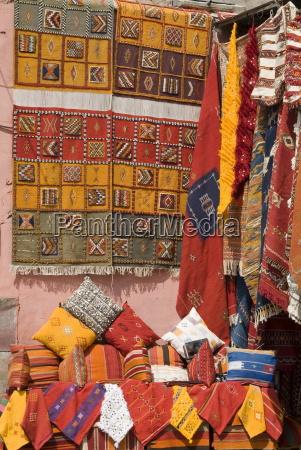 carpets place de criee souks marrakech