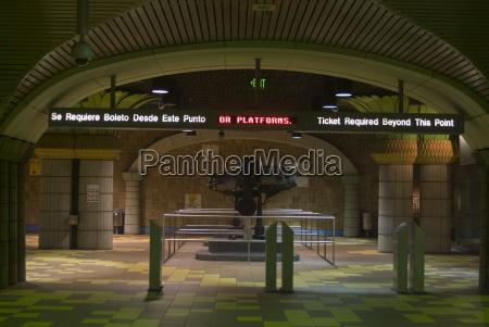 stazione di hollywood e vine metro