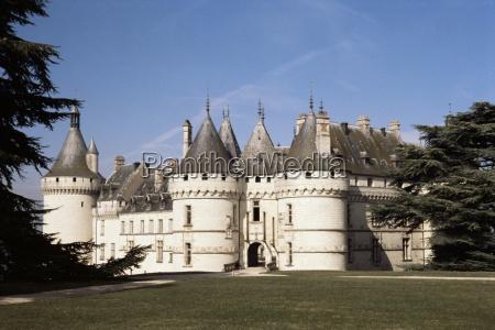 chateau chaumont centre frankreich europa