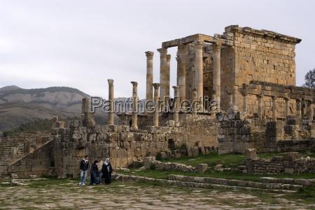 the temple of septimius severus roman