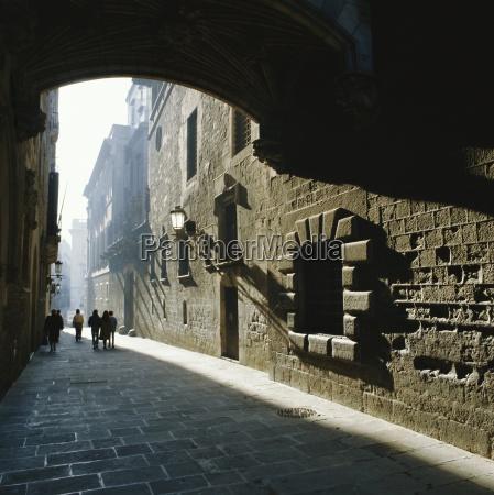 gothic quarter barcelona catalonia cataluna catalunya
