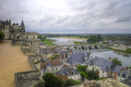 river loire from the chateau amboise