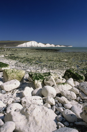 view to the seven sisters from