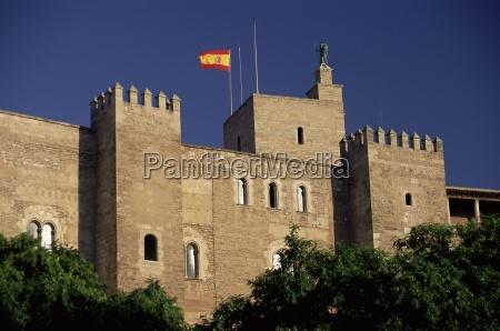 the almudaina palace palma mallorca majorca