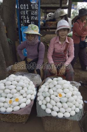 eggs for sale in market cambodia