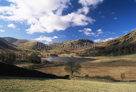 view to west across little langdale