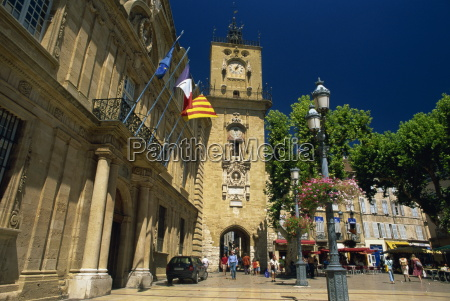 view to clock tower from the