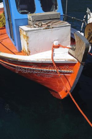 small fishing harbour of agnontas skopelos