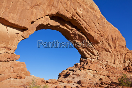 north window arch arches national park